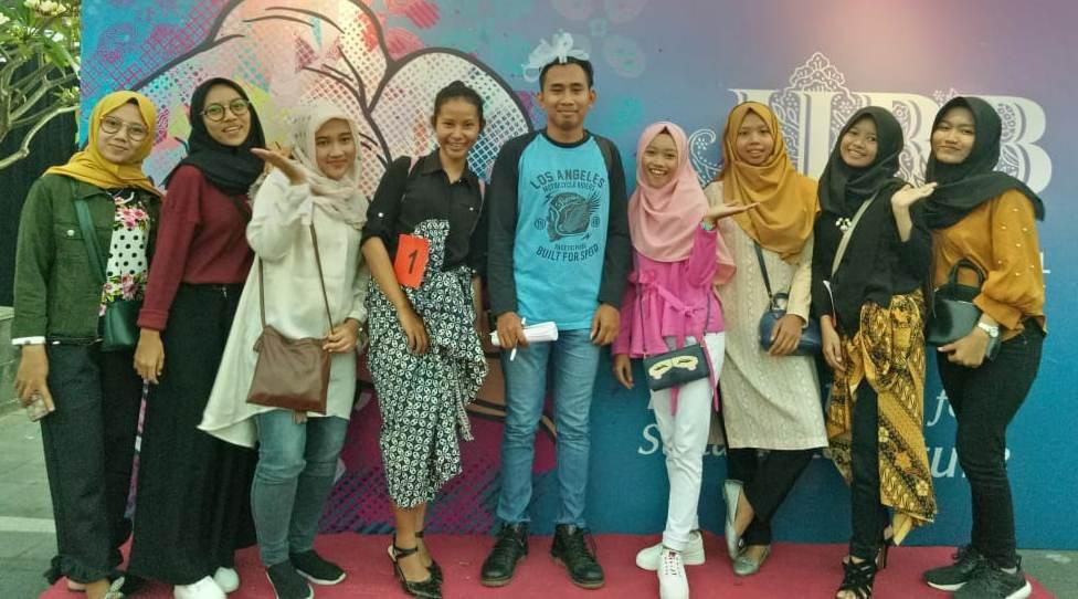 Mahasiswa Prodi Fashion Design AKS-AKK Yogyakarta Ikut Serta Memeriahkan JIBB 2018