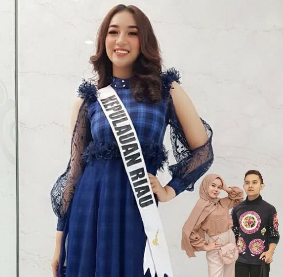 Puteri Indonesia Kepri Kenakan Gaun Rancangan AKS-AKK Yogyakarta